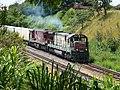 Locomotivas de comboio que saía sentido Guaianã do pátio da Estação Ferroviária de Itu - Variante Boa Vista-Guaianã km 201 - panoramio (3).jpg