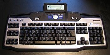 Bildbeschreibung: Logitech G15 Gaming-Keyboard...