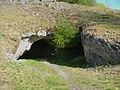 Lonetal,Vogelherdhöhle Eingang - panoramio.jpg