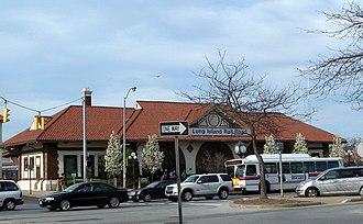 Long Beach station (LIRR) - The restored 1909-built Long Beach Station