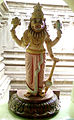 Lord Narasimha statue at Vizag Port Venkateswara temple.jpg
