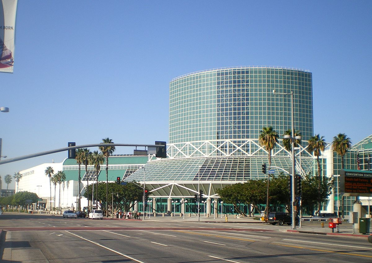 Los angeles convention center wikipedia for In the city of la