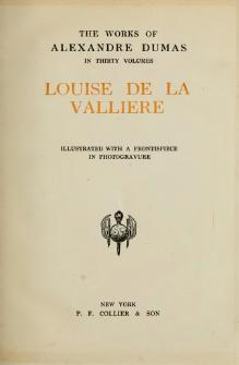 Louise de la Valliere text.djvu