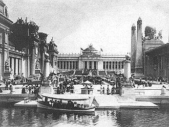 Louisiana Purchase Exposition - The Government Building at the Louisiana Purchase Exposition