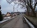 Lounín, silnice, západní část vesnice, čp. 43.jpg
