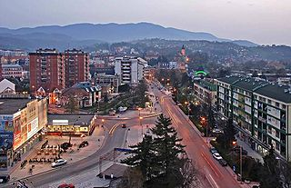 City in Šumadija and Western Serbia, Serbia