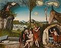 Lucas Cranach d.Ä. - Sündenfall und Erlösung (Národní galerie v Praze).jpg