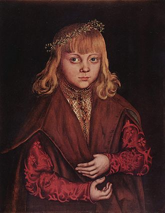 John, Hereditary Prince of Saxony - Portrait thought to be Johann of Saxony