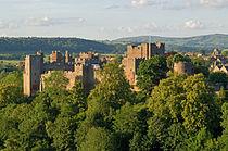 Ludlow Castle from Whitcliffe, 2011.jpg