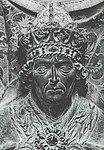 Kaiser Ludwig der Bayer (spätgotische Grabplatte aus rotem Marmor in der Münchner Frauenkirche, geschaffen 1468 vom Münchener Baumeister und Bildhauer Hans Haldner)