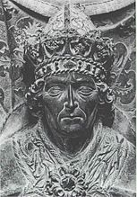 Emperor Ludwig the Bavarian (grave slab in the Frauenkirche)