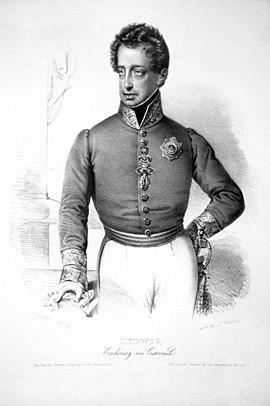 Ludwig Josef Anton, Österreich, Erzherzog