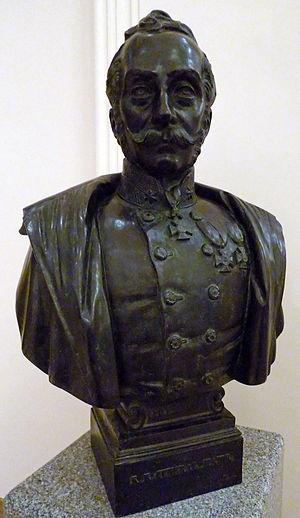Ludwig von Benedek - Bust of Benedek in the Heeresgeschichtliches Museum Wien