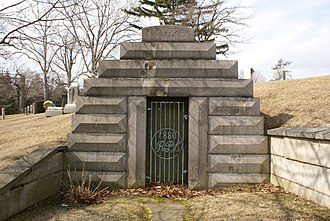 Ruth Chatterton - The Lugar Mausoleum where Chatterton's remains are interred
