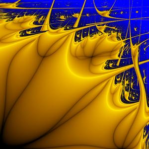 Lyapunov fractal - Image: Lyapunov fractal AABAB