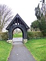 Lych gate, All Saints Church, Broad Chalke - geograph.org.uk - 746000.jpg