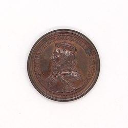 Médaille Fredericus II duc de Lorraine, Saint-Urbain, avers.jpg