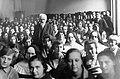 Múzeum körút, Pázmány Péter Tudományegyetem egyik tanterme, Cholnoky Jenő földrajztudós hallgatóival. Fortepan 20717.jpg