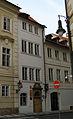Měšťanský dům U zlatého slunce (Malá Strana), Praha 1, Valdštejnská 20, Malá Strana.JPG