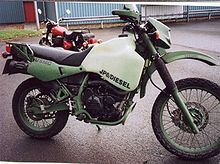 Kawasaki Dirt Bike Engine