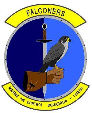 Marine Air Control Squadron 1 - MACS-1 Insignia