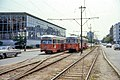 MBTA 3052 and 3331 at Northeastern University in 1967.jpg