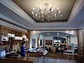 MC Macau hotel hall lobby interior n ceiling lamp 鷺環海天度假酒店 Grand Coloane Resort 1918 Estrada de Hac Sa 路環 黑沙馬路 May 2017 Lnv2 01.jpg