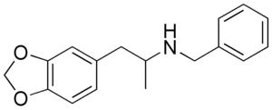 Methylenedioxybenzylamphetamine - Image: MDBZ
