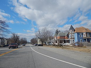 Downtown Ridgely in March 2015.