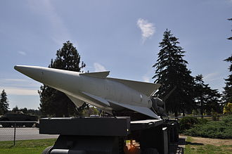 Fort Lewis - MIM-14 Nike Hercules anti-aircraft missile at the Fort Lewis Military Museum