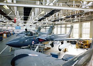 No. 1 School of Technical Training RAF - Inside the New Workshops of No.1 SofTT at RAF Halton during the 1970s