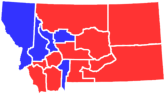 United States presidential election in Montana, 1892 - Image: MT1892president