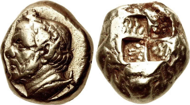 MYSIA, Kyzikos. Early–mid 4th centuries BC. Portrait of Timotheos