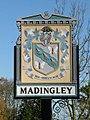 Madingley village sign - detail - geograph.org.uk - 1042757.jpg