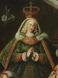 Madre Paula de Odivelas representada como Nossa Senhora.png