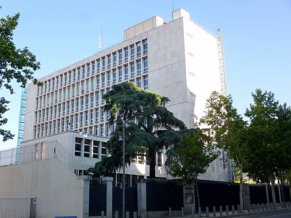 Sede de la embajada de los estados unidos en espa a - Embaja de espana ...