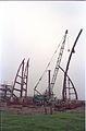 Main Auditorium Under Construction - Convention Centre Complex - Science City - Calcutta 1994-11-03 473.JPG