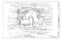 Main Elevation - Montezuma Castle, Off I-17, Camp Verde, Yavapai County, AZ HABS ARIZ,13-CAMV.V,1- (sheet 12 of 20).png