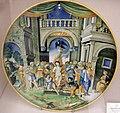 Maiolica di urbino, nicola da urbino, vergine di sesto, 1530 ca.jpg