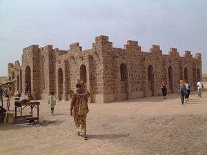 2nd Battle of Kidal - House of craftsmen in Kidal