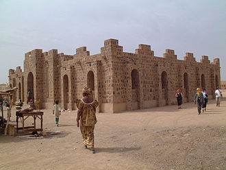 2nd Battle of Kidal - House of craftsmen in Kidal
