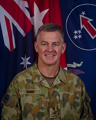 Chief of Army (Australia) - Image: Maj. Gen. Rick Burr, USARPAC