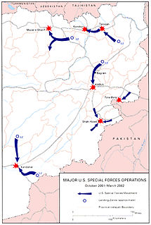 United States invasion of Afghanistan 2001 United States military invasion of Taliban-held Afghanistan