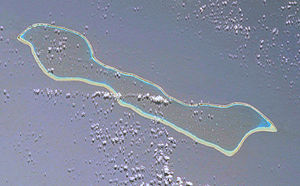 Makemo - NASA picture of Makemo Atoll