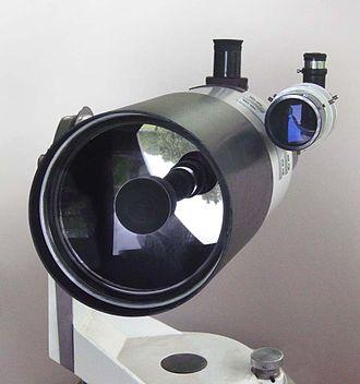 Catadioptric system - A 150 mm aperture catadioptric Maksutov telescope