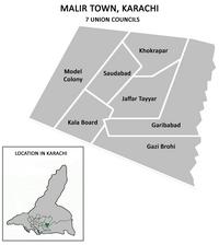 List of Union Councils of Karachi - Wikipedia