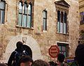 Manifestació contra el procés de Bolonya davant del palau de la Generalitat Valenciana.JPG