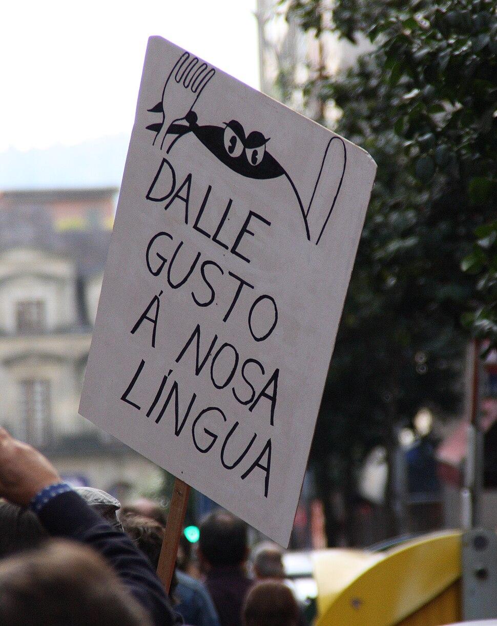 Manifestación queremos galego