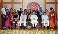 Manmohan Singh with the Awardee Teachers ahead of Teachers' Day, in New Delhi. The Union Minister for Human Resource Development, Dr. M.M. Pallam Raju and the Ministers of State for Human Resource Development (13).jpg