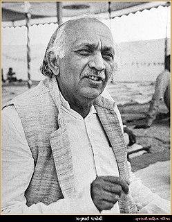 Manubhai Pancholi Indian politician